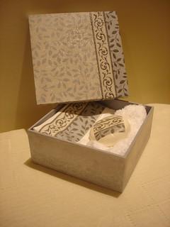 artesanato em madeira caixa com sabonete e toalha Flickr