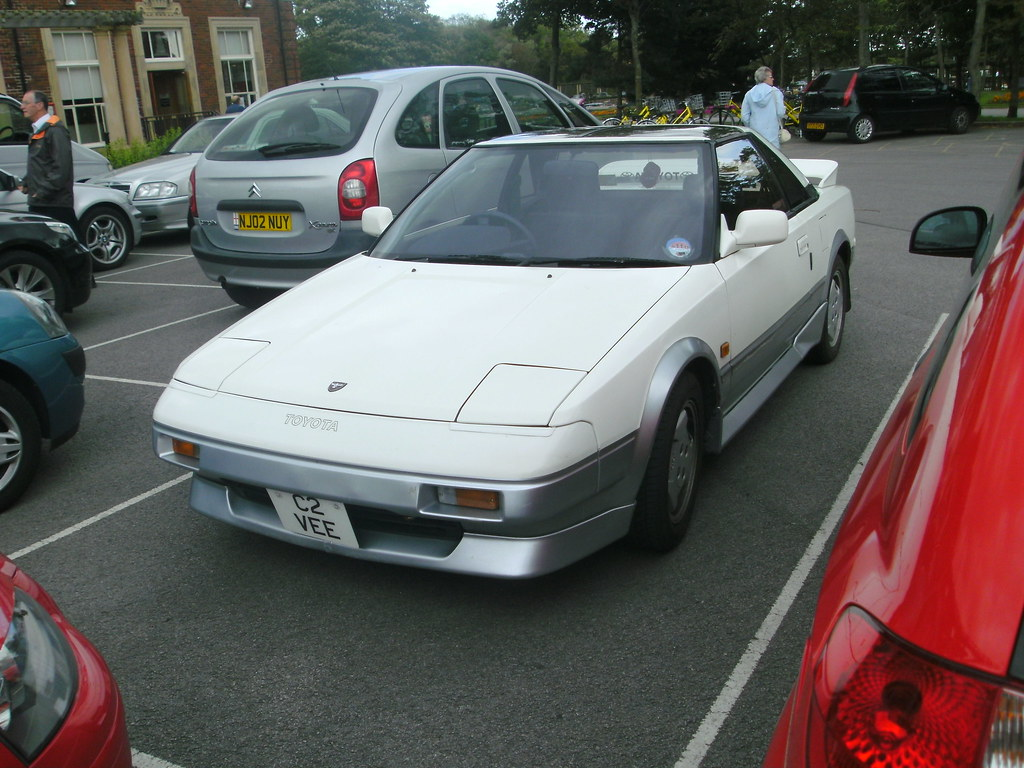 1989 Toyota Mr2 1 6 Import There S Usually Something Int Flickr