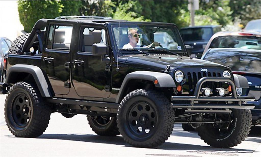 David Beckham's Jeep Wrangler Unlimited | MWButterfly | Flickr