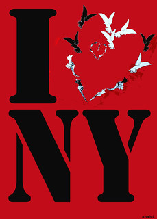 i love ny | by MY PINK SOAPBOX