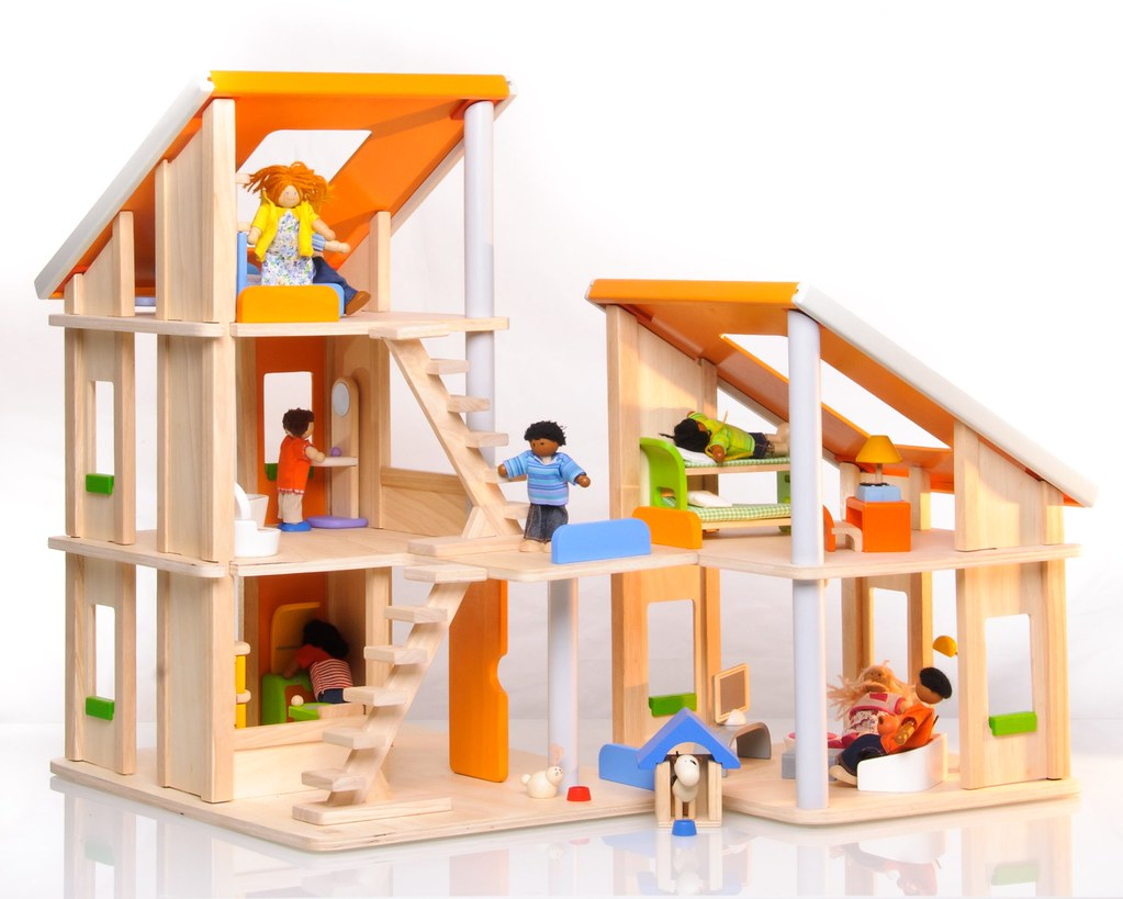 Plan Toys   Chalet Doll House   Chalet Doll House by Plan To    Flickr