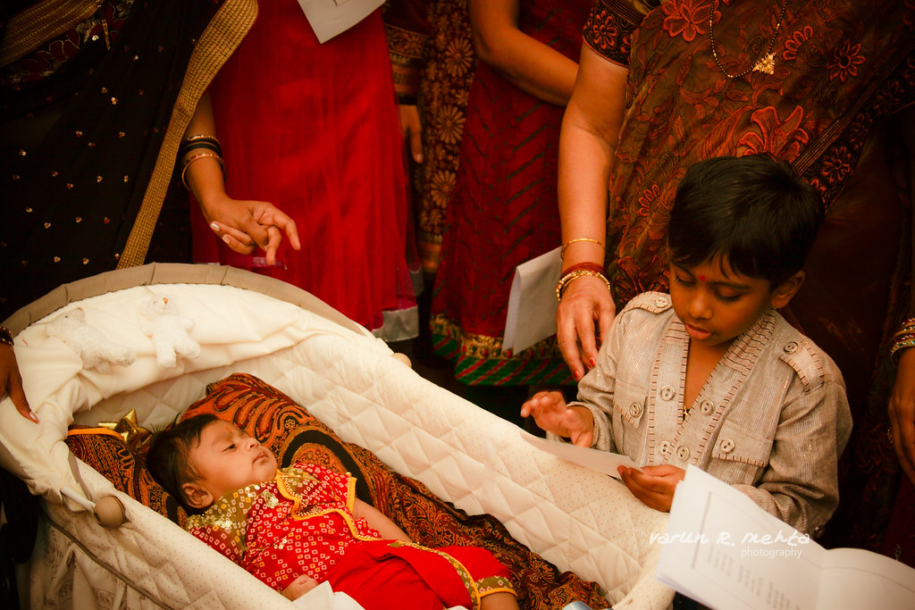 Naming Ceremony Rayan | A welcome party for Rayan in a ... Hindu Naming Ceremony