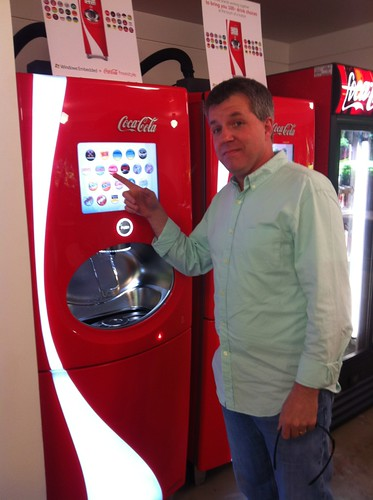 The Coke Freestyle machine on the Microsoft Campus | by Major Nelson