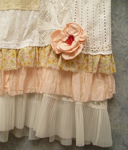 Patchwork skirt with petticoat custom made patchwork for Custom dress shirts charlotte nc