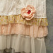 Patchwork Skirt With Petticoat