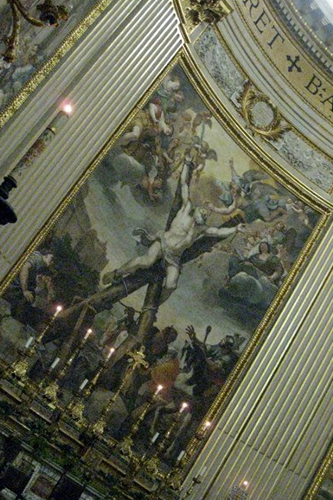 St Andrew crucified, in Sant'Andrea della valle © ROH 2011 | by Royal Opera House Covent Garden