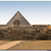 Pyramid of Queops & Sphinx of Gize II