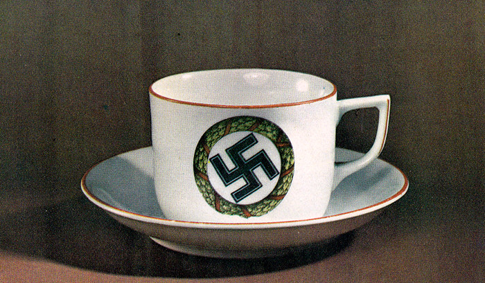 The Mug Coffee >> Nazi tea cup | From: Kitsch - An anthology of bad taste by G… | Flickr