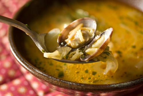 Galician seafood soup | by Jessamyn Tuttle
