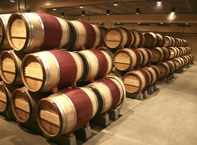 wine color additive barrels