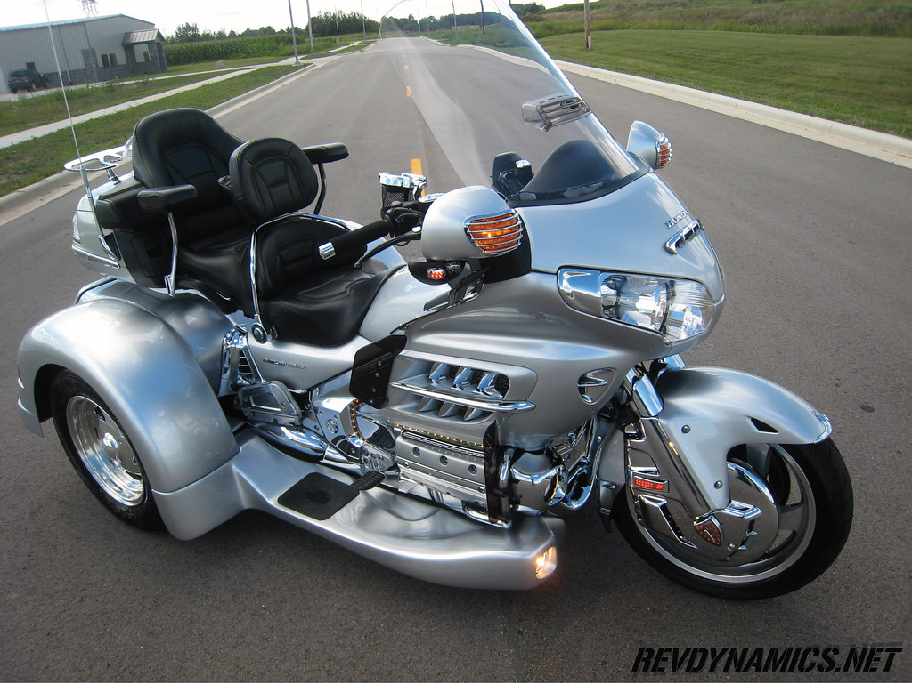 honda goldwing motor trike goldwing trike kit painted to m flickr. Black Bedroom Furniture Sets. Home Design Ideas