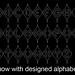 designed alphabet