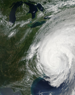 Hurricane Irene over the eastern United States | by NASA Goddard Photo and Video
