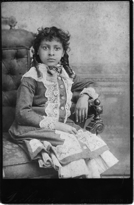Beautiful Young Black Jersey Girl - Circa 1899  This -6497