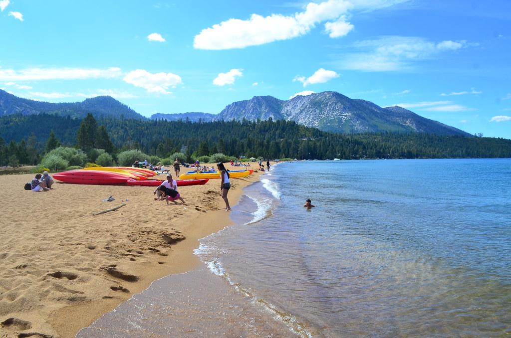 Baldwin Beach South Lake Tahoe Vs Pope Beach