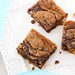 Nutella & Cream Cheese Swirled Blondie Recipe