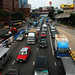 The world's most congested road in Hong Chong Road,Hung Hum,Hong Kong