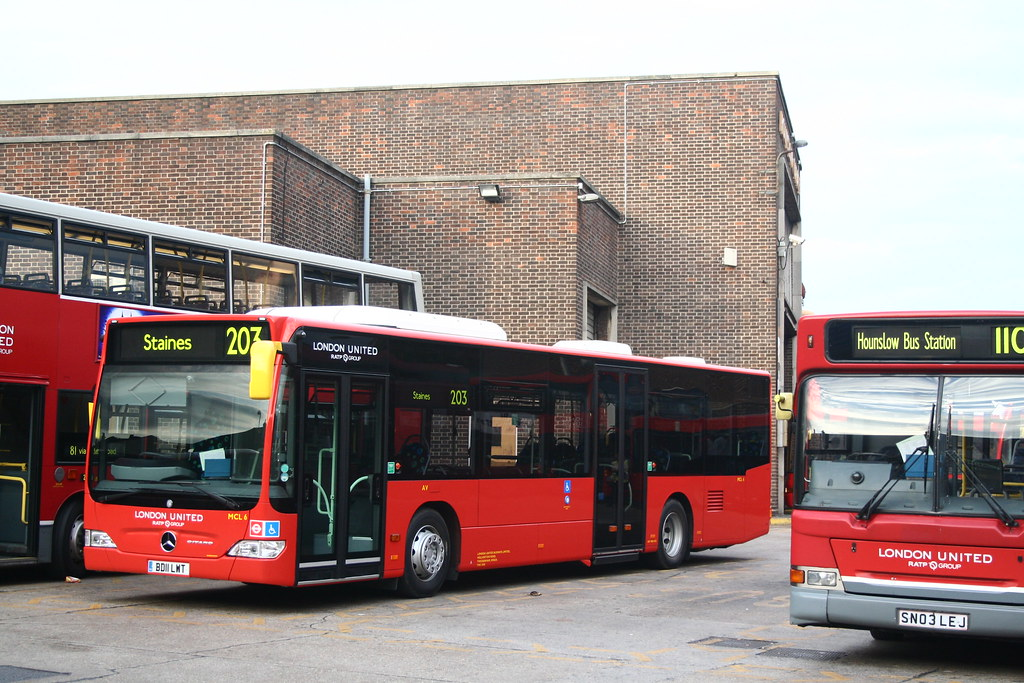 London united mercedes benz citaro mcl 6 bd11 lwt in hou flickr - Mercedes benz garage london ...