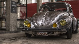 Volkswagen outside Republik | by madprime
