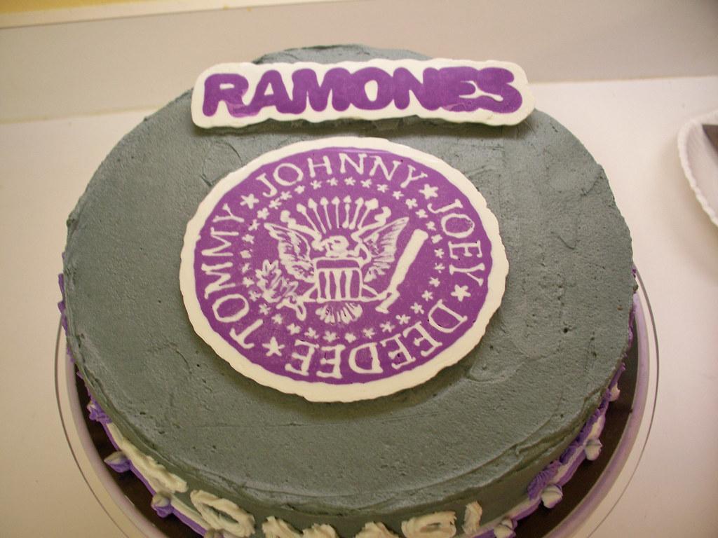 Ramones Cake Erika Flickr
