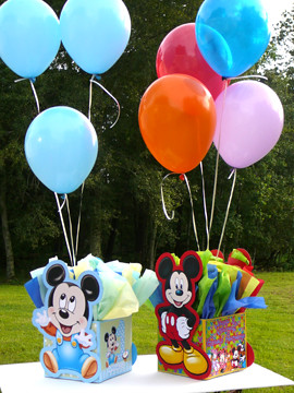 Mickey Mouse Baby Shower Decorations For A Boy