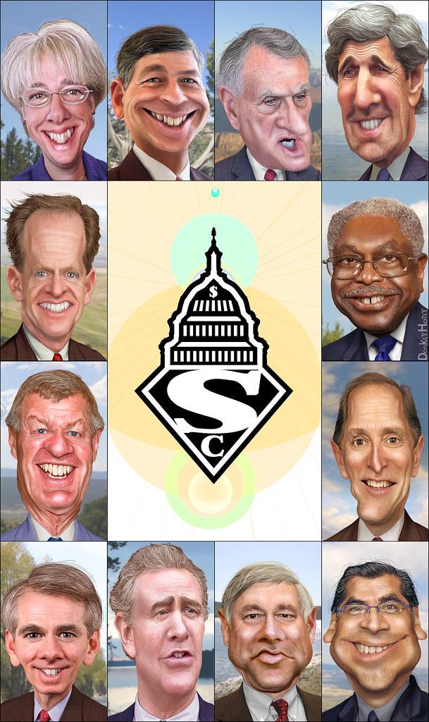 Super Congress / Committee - Cartoon Logo & Caricatures ...