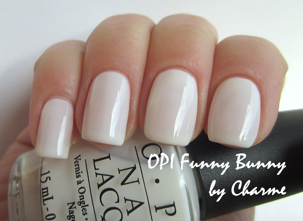 OPI Funny Bunny | three coats + top coat natural light | Olga | Flickr