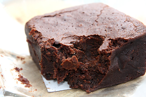 chocolate brownie | by David Lebovitz
