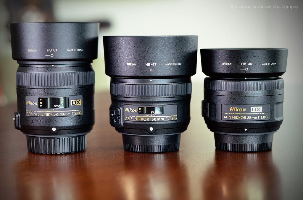Nikon AF S Micro NIKKOR 40mm F 28G DX Macro Size Comparis