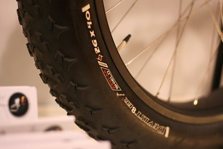 26 x 4.0 inch bicycle tire | by Richard Masoner / Cyclelicious