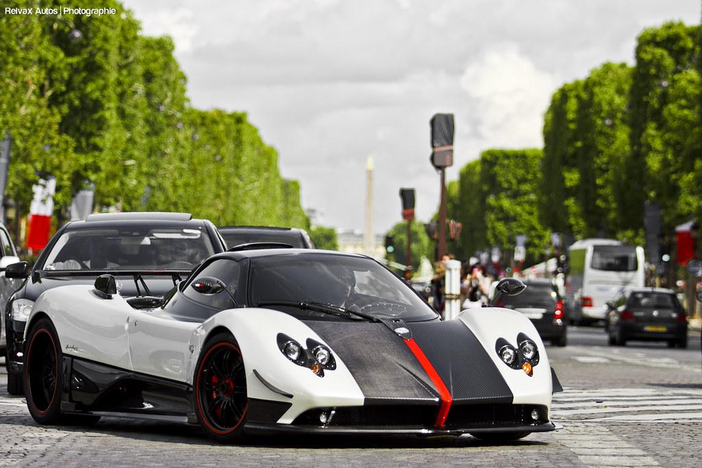 Pagani Zonda Cinque Roadster Paris Summer 2011 More