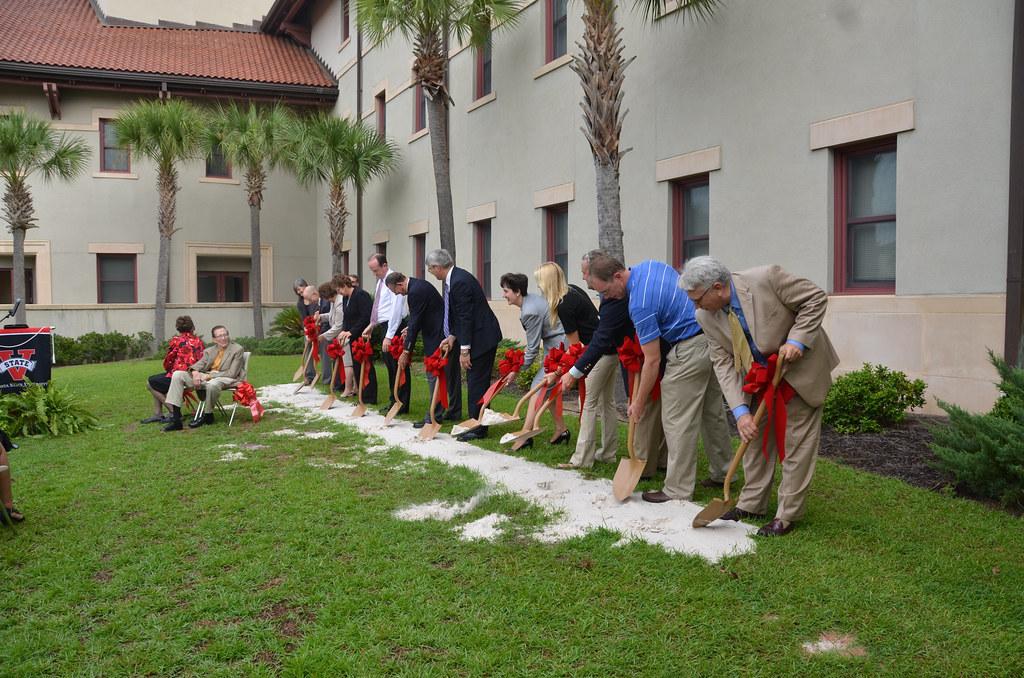 Groundbreaking Ceremony Valdosta State University Scienc