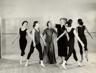 Martha Graham's studio | by Perkins School for the Blind Archive