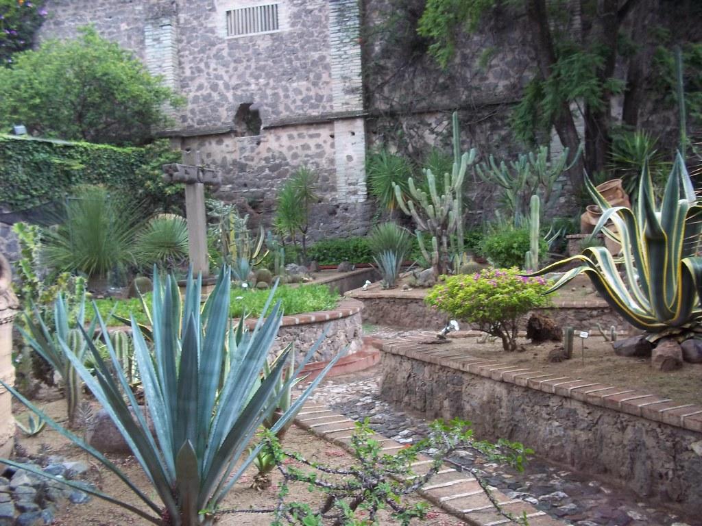 Jardin mexicano ex hacienda san gabriel de barrera for Jardines pequenos mexicanos