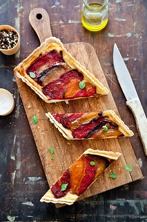 Roasted Pepper & Ricotta Tart | by tartelette