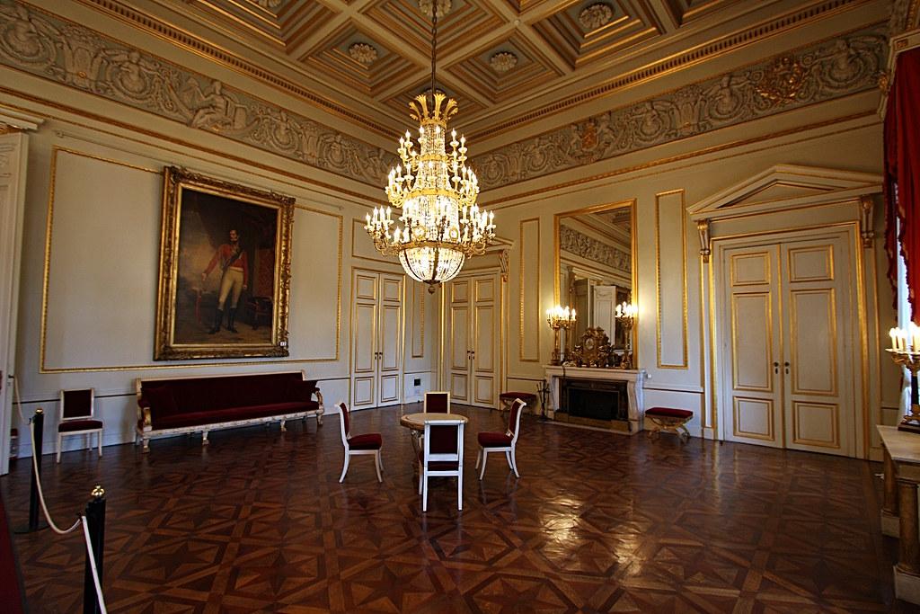 Palais royal de bruxelles grande antichambre olivier monbaillu flickr - Salon de the palais royal ...
