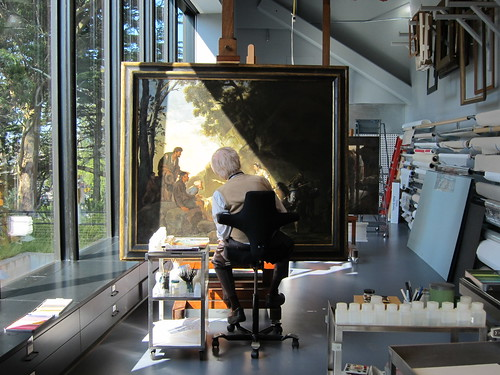 FAMSF Paintings Conservation | by FAMSF