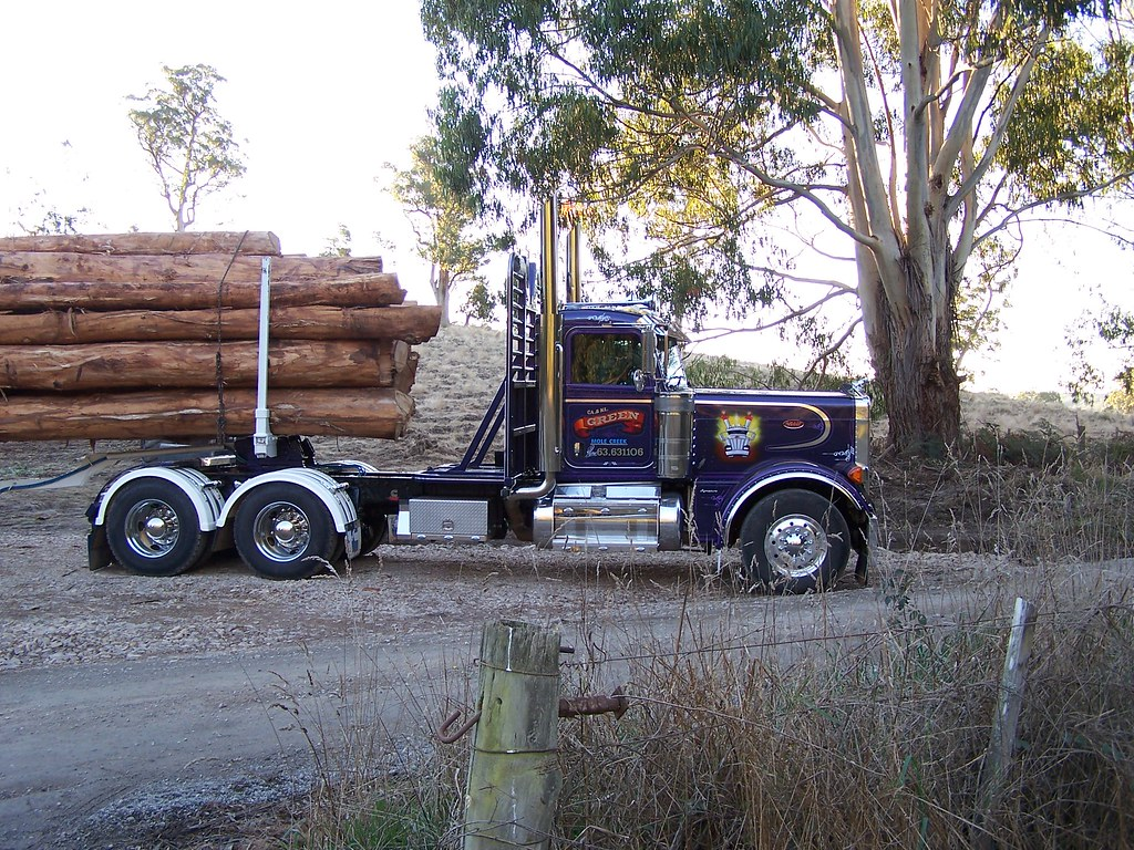 379 Peterbilt log truck | SAR BOY | Flickr
