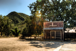 Paramount Ranch - Barber Shop w/ Flare | by NatashaBishop