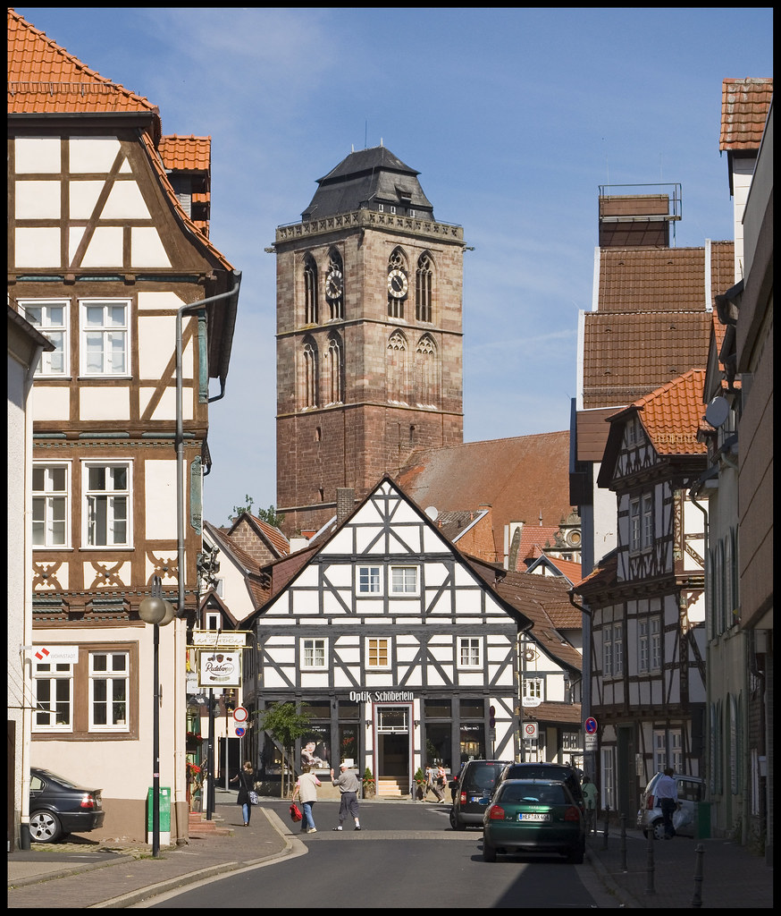 bad hersfeld hessen in the center of the town wwwuppertal flickr. Black Bedroom Furniture Sets. Home Design Ideas