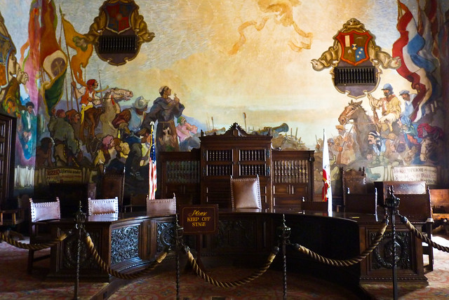 Santa barbara courthouse mural room flickr photo sharing for Mural room santa barbara