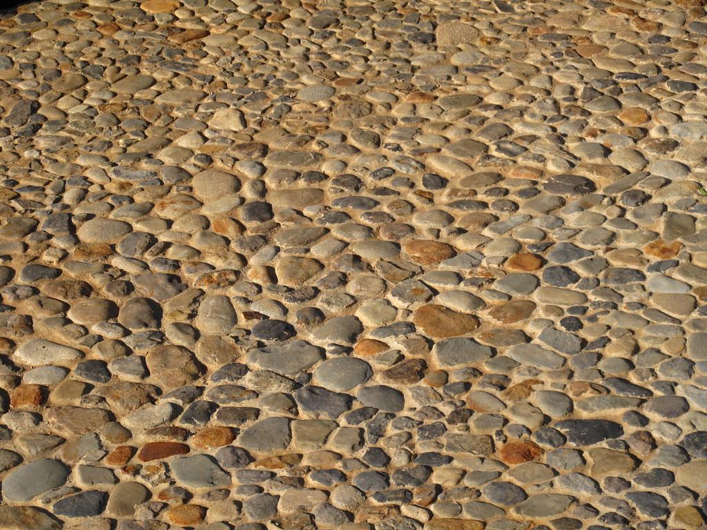 Hacienda el vergel detalle de restauraci n del pavimento for Pavimento piedra natural