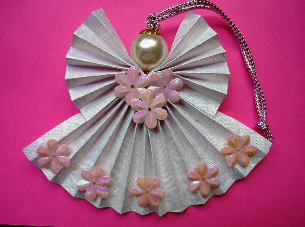 Origami Fan Angel Rheajm Flickr