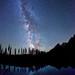 Stars, Milky Way, String Lake, Grand Teton NP