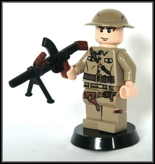 Lego ww2 -custom British Bren Gun- | by =DoNe=