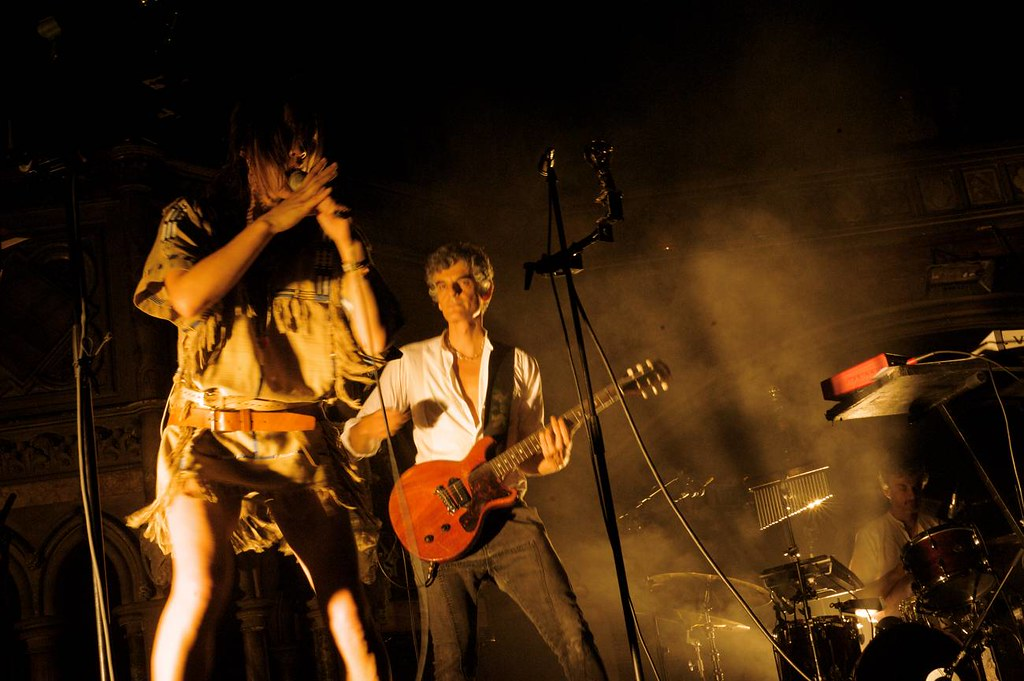 Was Blonde redhead london right!