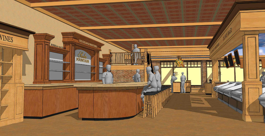 Grocery store d cor design interior 3d design interior Pros and cons of being an interior designer
