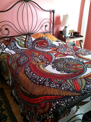 Feather Heaven Duvet | by valentinadesign