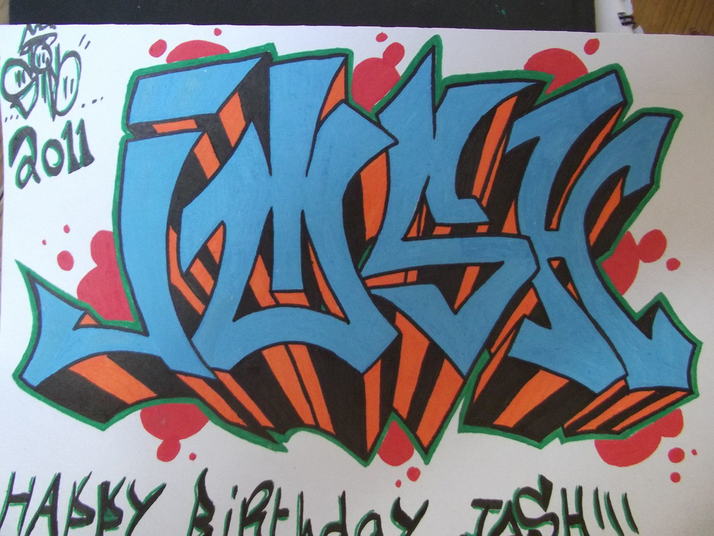 Josh graffiti sico flickr josh graffiti by sico altavistaventures Image collections