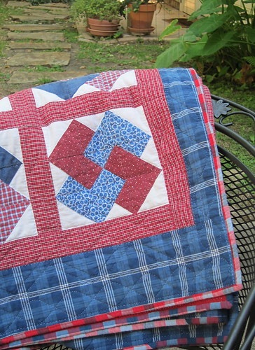 Card Trick Quilt- rebound | by a maiden hair fern